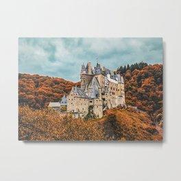 Castle Eltz Germany Metal Print