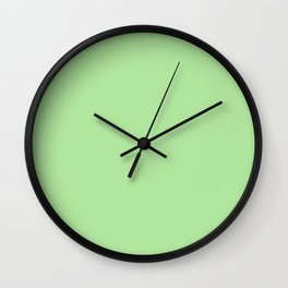 Paradise Green Wall Clock