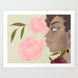 Brandy's Daughter Art Print