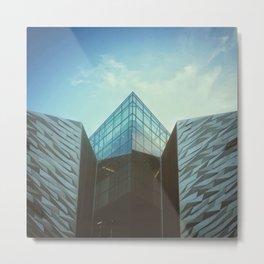 Titanic Building. Belfast Metal Print