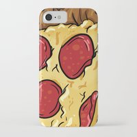 pizza iPhone & iPod Cases featuring Pizza by jeff'walker