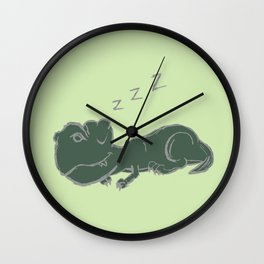 DINOSNORE Wall Clock