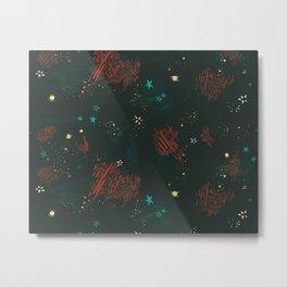 Cosmic Pattern Metal Print