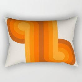 Golden Knots Rectangular Pillow