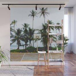 Basketball on Isla Bastimento, Bocas del Toro, Panama Wall Mural