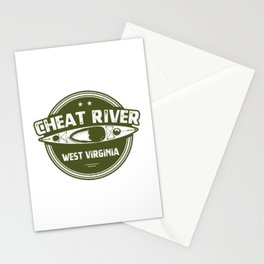 Cheat River, West Virginia Stationery Cards