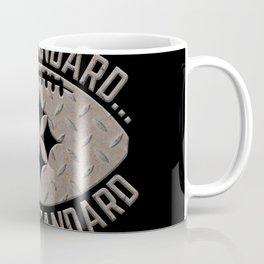 Pittsburgh Steel City Football The Standard Metal Black 412 Coffee Mug