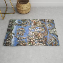 Michelangelo Last Judgement Rug