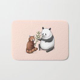 Panda Friends Bath Mat