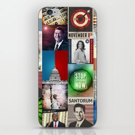 Conservatives Collage iPhone Skin