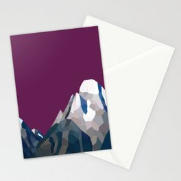 Geo Mountain Range (Part 3) Stationery Cards