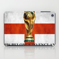 world cup iPad Cases featuring World Cup by Rothko