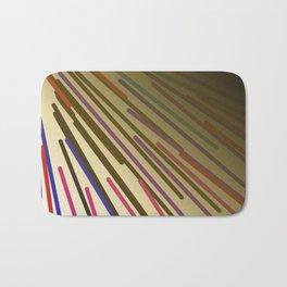 wild design lines  Rainbow edition Bath Mat