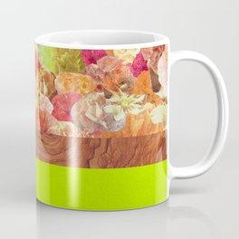 Layers Floral Lime Coffee Mug