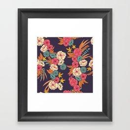 Jungle Pattern 006 Framed Art Print