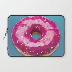 Lowpoly Donut Laptop Sleeve