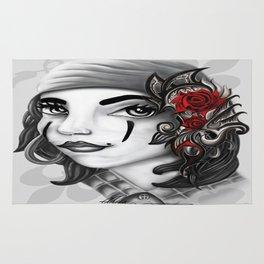 Gypsy lady design Rug