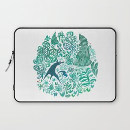 Forest Wolf Laptop Sleeve