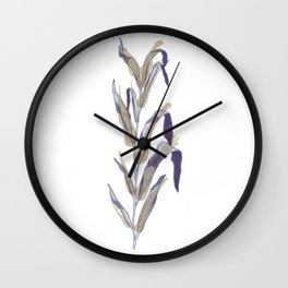 Seaweed & Coffee Wall Clock