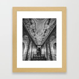 Krypta Framed Art Print