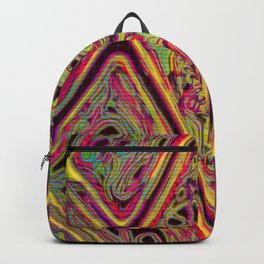 Pieces Fitting Together [Test Pattern #741] Backpack