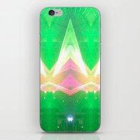 illuminati iPhone & iPod Skins featuring Illuminati by Alison Manno