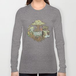 Creatures Of The Forest Long Sleeve T-shirt