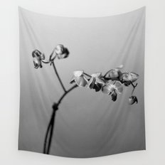 Disgruntled Orchid Wall Tapestry
