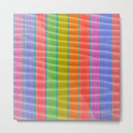 sandy stripes Metal Print