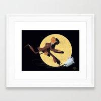 tintin Framed Art Prints featuring Tintin by David Pavon