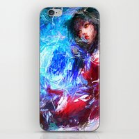 league of legends iPhone & iPod Skins featuring League of Legends - Ahri by Raditya Giga