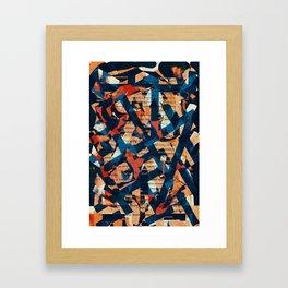 Pattern № 8 Framed Art Print