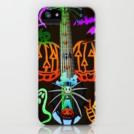Fusion Keyblade Guitar #198 - Pumpkinhead & Dual Disk iPhone Case