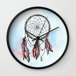 Dreamcatcher Dream Wall Clock