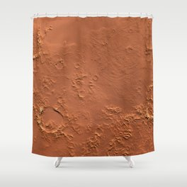 Mars Surface Shower Curtain