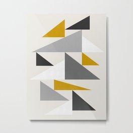 Geometric Pattern XVIII Metal Print