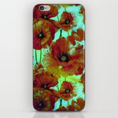 marsala floral iPhone & iPod Skin