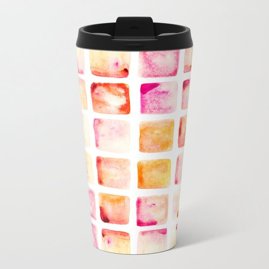 Peach Cobbler Metal Travel Mug