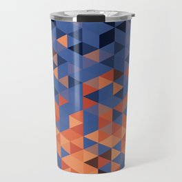 Dusk Pixels  Travel Mug