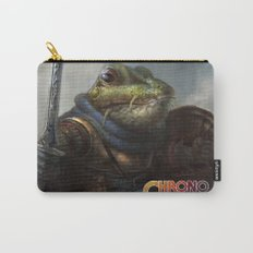 A knightly Frog  Carry-All Pouch