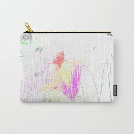 abstract whale Carry-All Pouch