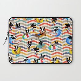 Mirabelle's day at the beach Laptop Sleeve
