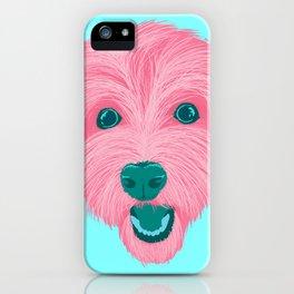 havanese - aqua iPhone Case