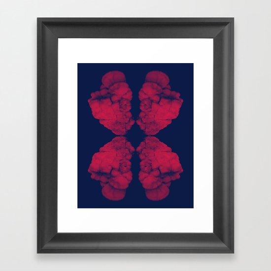 Funghus Framed Art Print