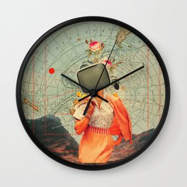 Antarctic Broadcast Wall Clock