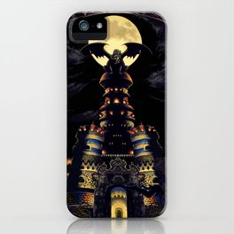 Magus Castle iPhone Case