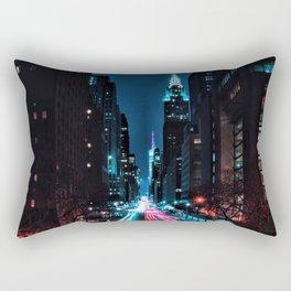 Light Trails Rectangular Pillow