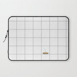 Pie Cooling on the Windowpane Pattern Laptop Sleeve