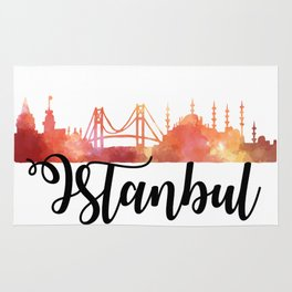 Istanbul Skyline Rug