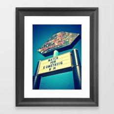 Club Paradise Cabaret Framed Art Print